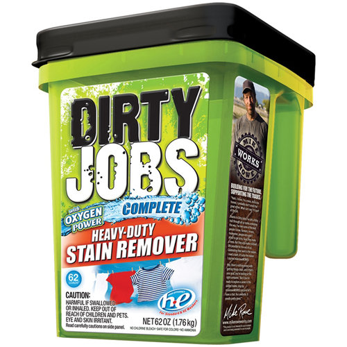 Dirty Jobs Heavy-Duty Stain Remover Powder, 62 oz