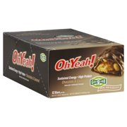 Oh Yeah! High Protein Bar, Chocolate & Caramel, 15g Protein, 12 Ct