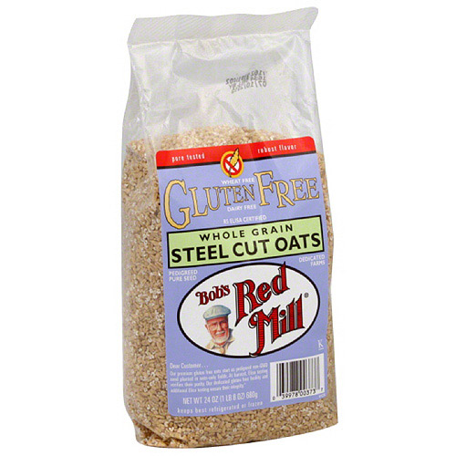 Bob's Red Mill Gluten Free Steel Cut Oats, 24 oz, (Pack of 4)