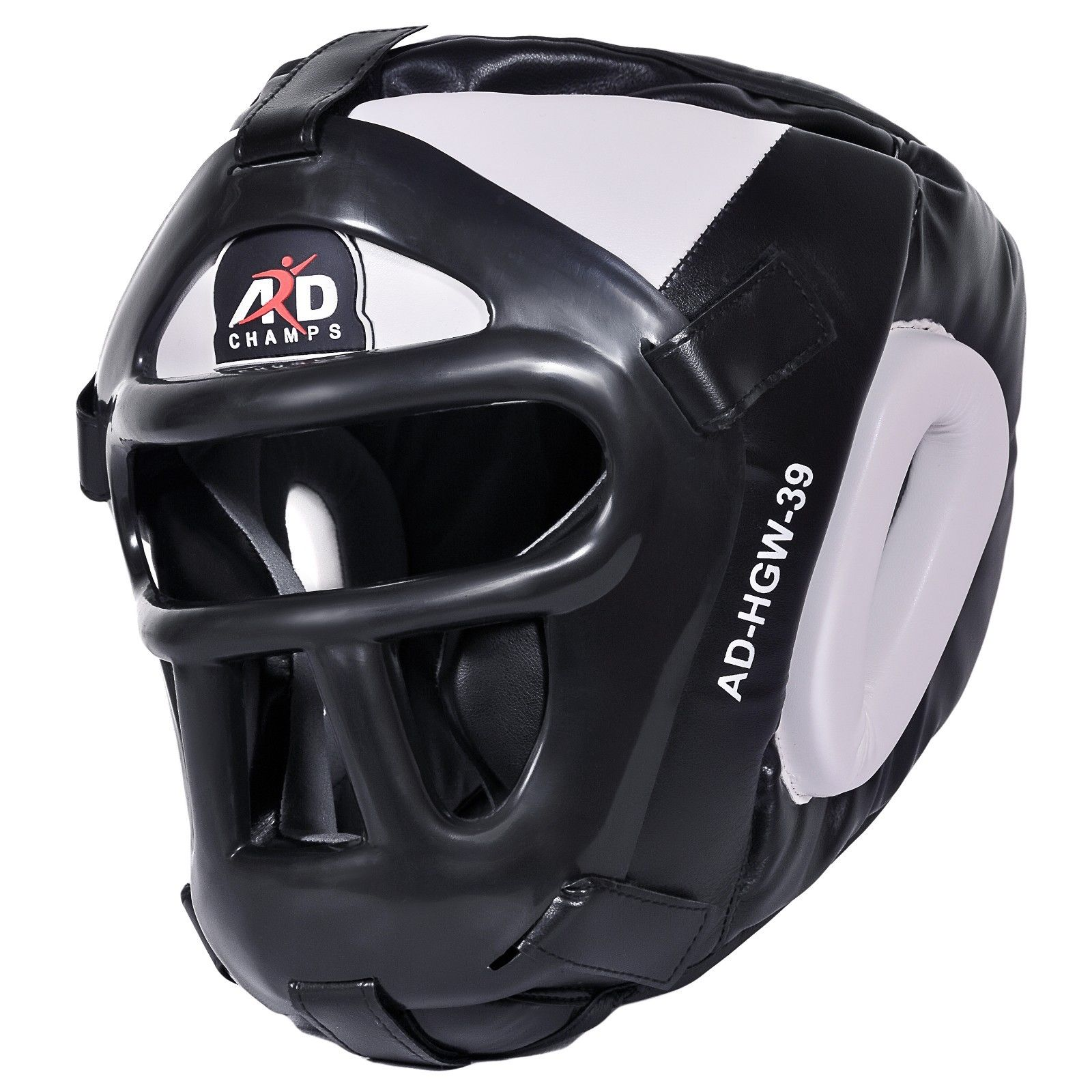 ARD CHAMPS Protector Guard Wrestling Helmet Head Gear Boxing MMA Rugby Color White by