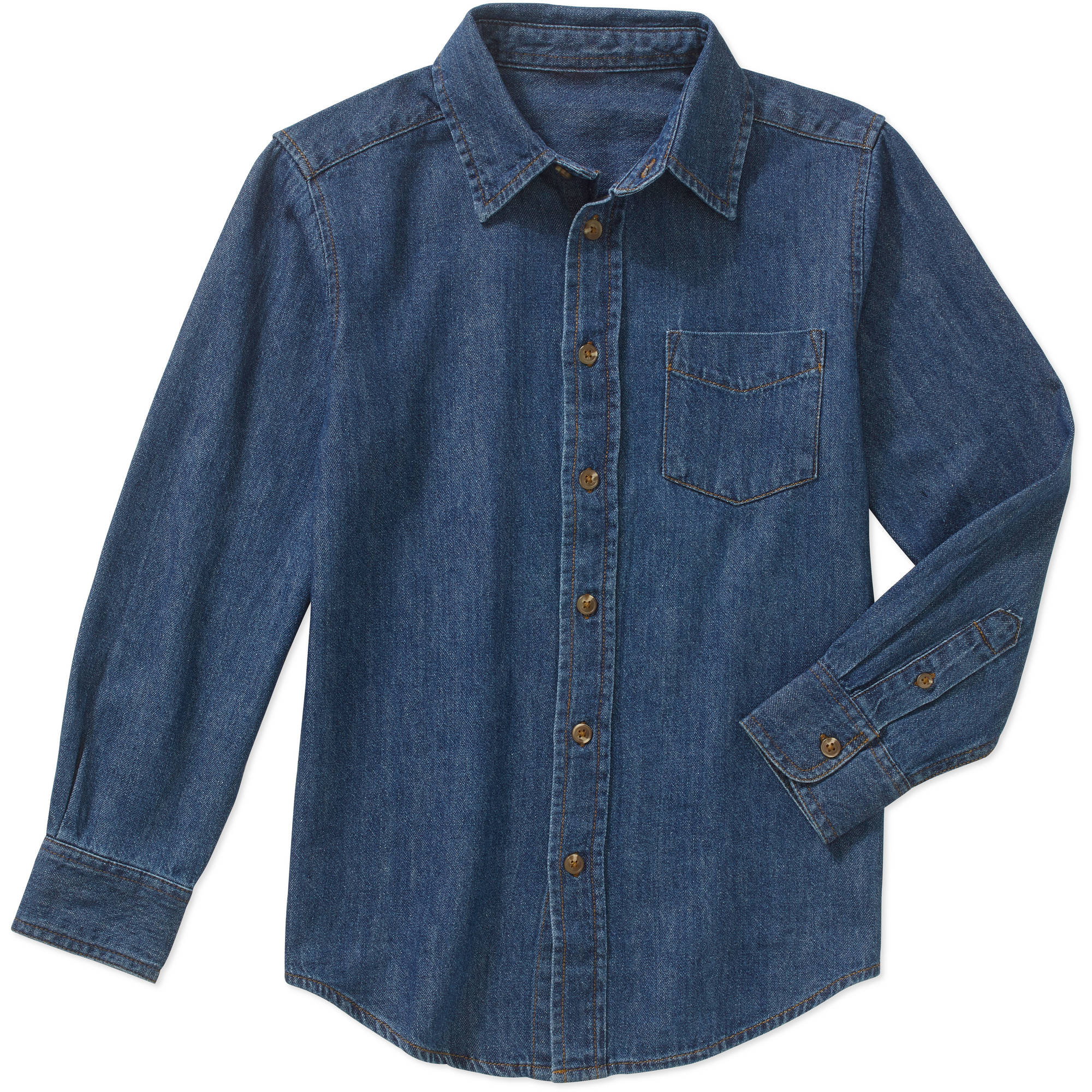 Boys' Long Sleeve Denim Shirt