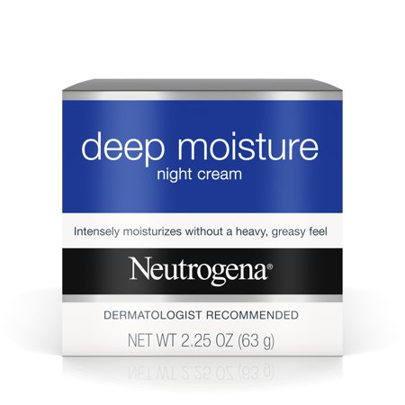 Neutrogena Deep Moisture Night Cream with Glycerin & Shea Butter, 2.25 oz