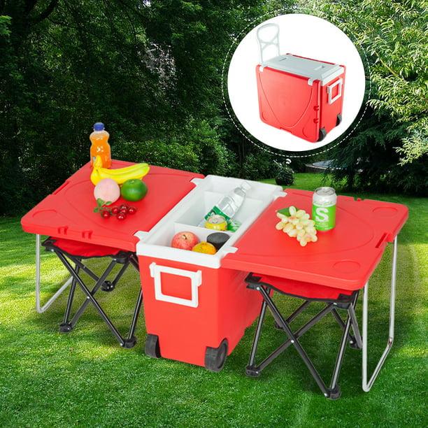 per feste festival o picnic Red Portabottiglie termico da vino capacit/à 1,5/l campeggio