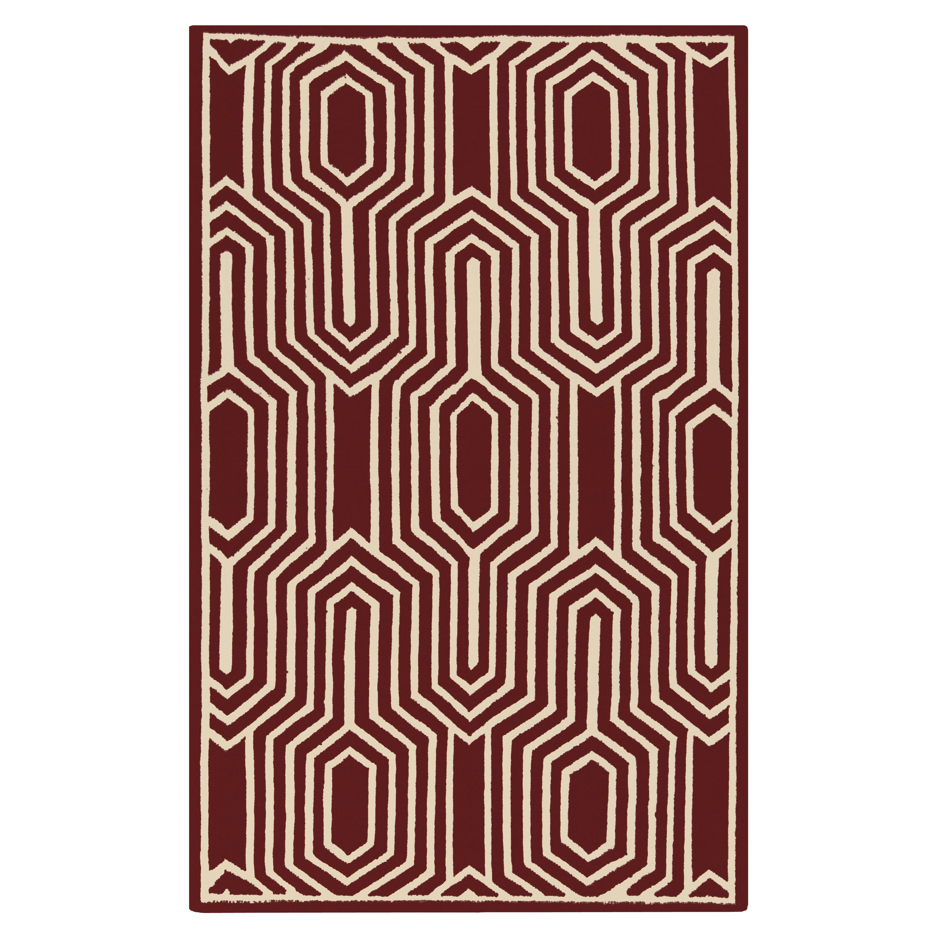 Surya Frontier Retro Transitional Area Rug