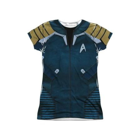 Plus Size Star Trek Uniform (Star Trek Beyond Film Beyond Jacket Uniform Juniors Front Print)
