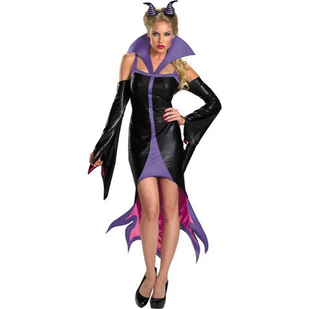 Maleficent Sassy Adult Halloween Costume (Kids Maleficent Costume)