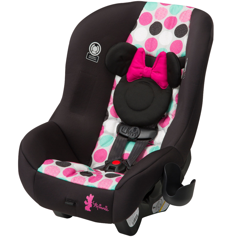 Disney Baby Scenera NEXT Luxe Convertible Car Seat, Minnie Dotty