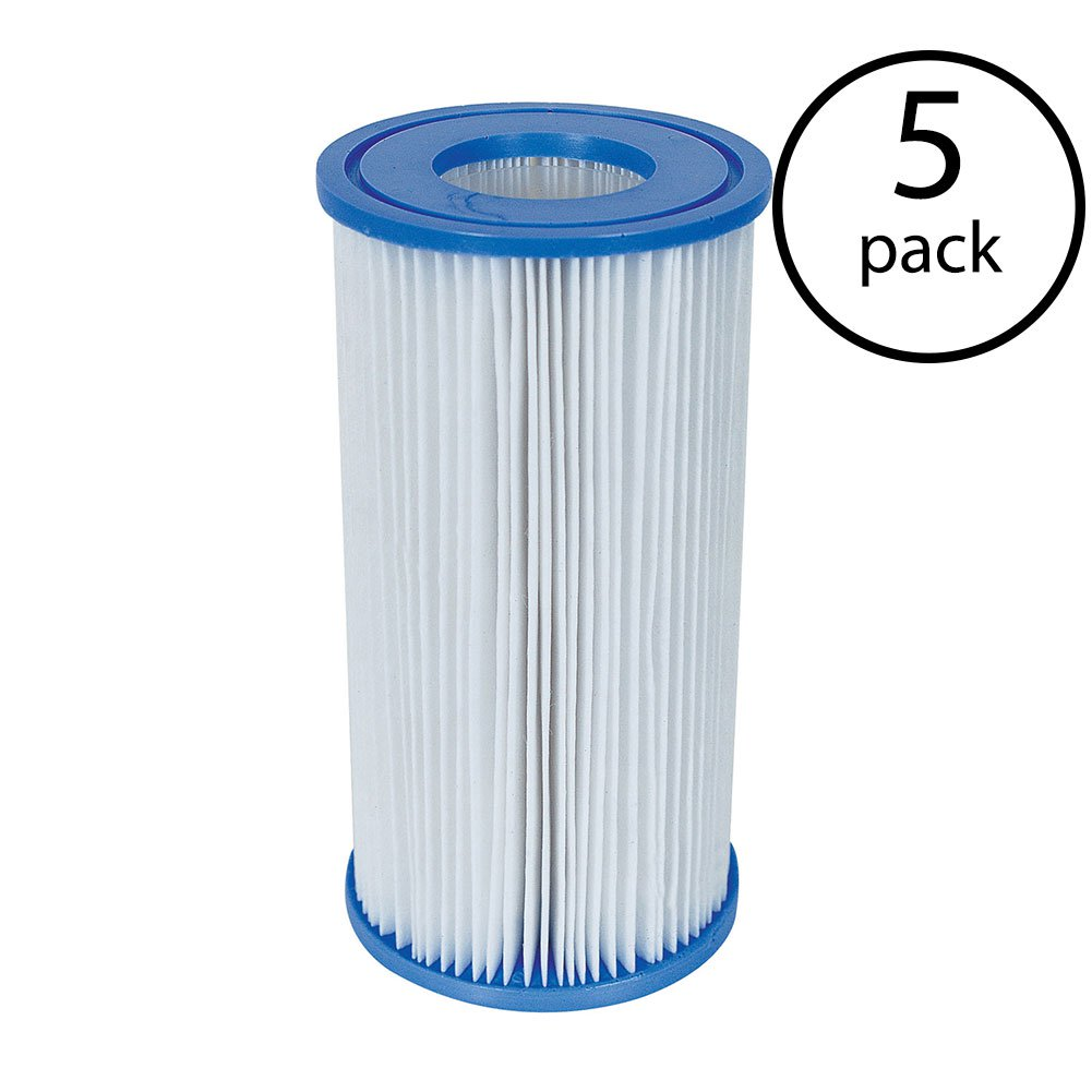 Coleman Type III A/C Swimming Pool Filter Pump Replacement Cartridge (5 Pack)