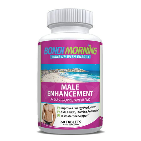 Male Enhancement Supplement – Potent High Quality Mens Performance Booster, Pure Maca Root, L-Arginine & Tongkat Ali Powder, Promotes Libido & Boosts Stamina -
