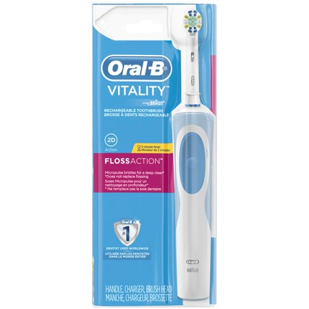 Oral-B Vitality FlossAction Electric Rechargeable Toothbrush, powered by Braun