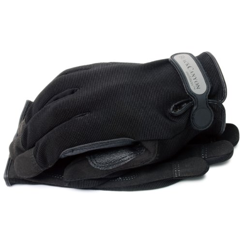BLACKCANYON OUTFITTERS General Purpose Job 1 Padded Palm Glove with Adjustable Wrist - Large 1 Pai Multi-Colored