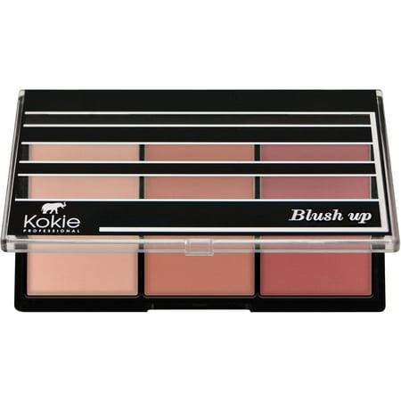 Kokie Professional Blush Up Blush Palette, Rose Glow