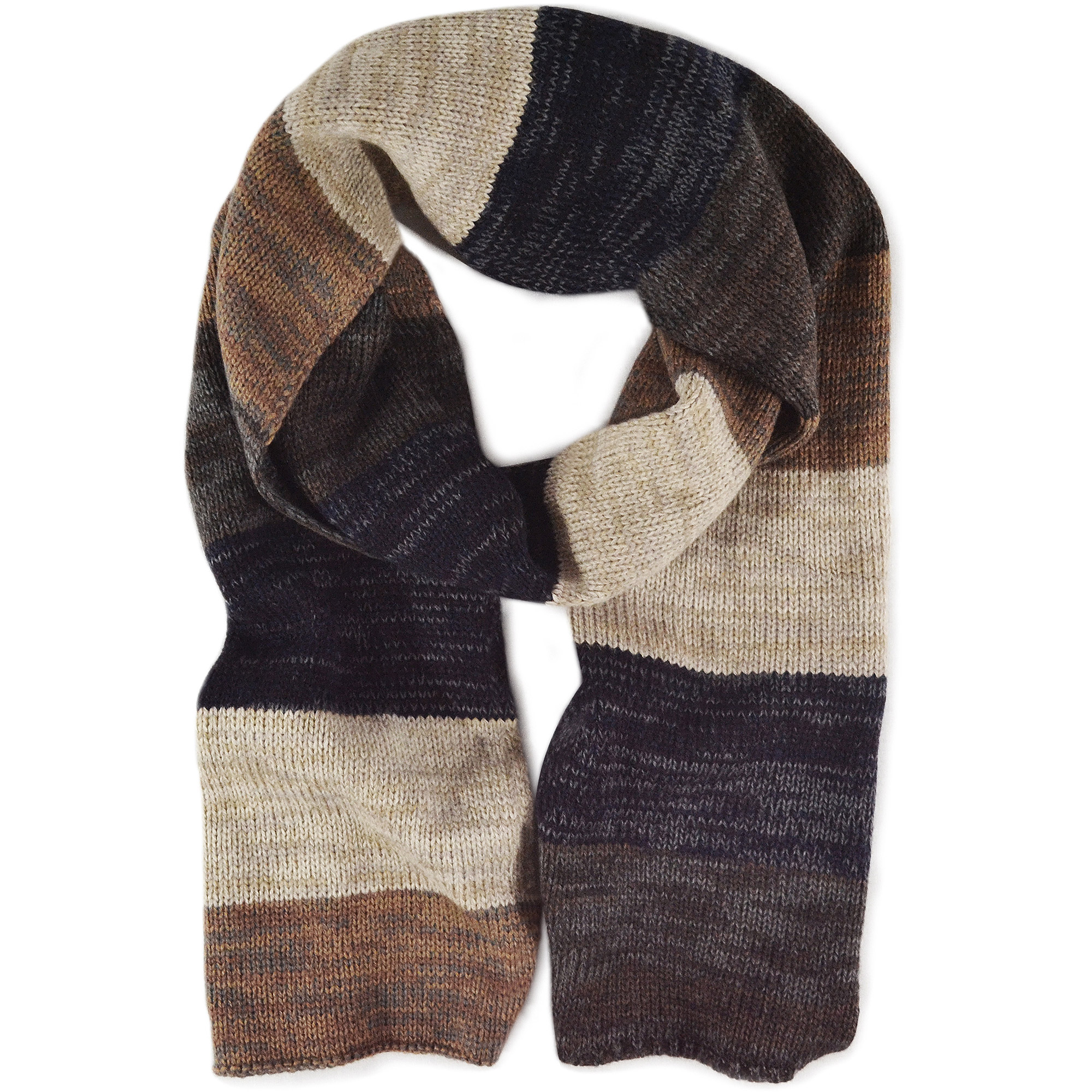 MUK LUKS Men's Ombre Knit Single Layer Scarf