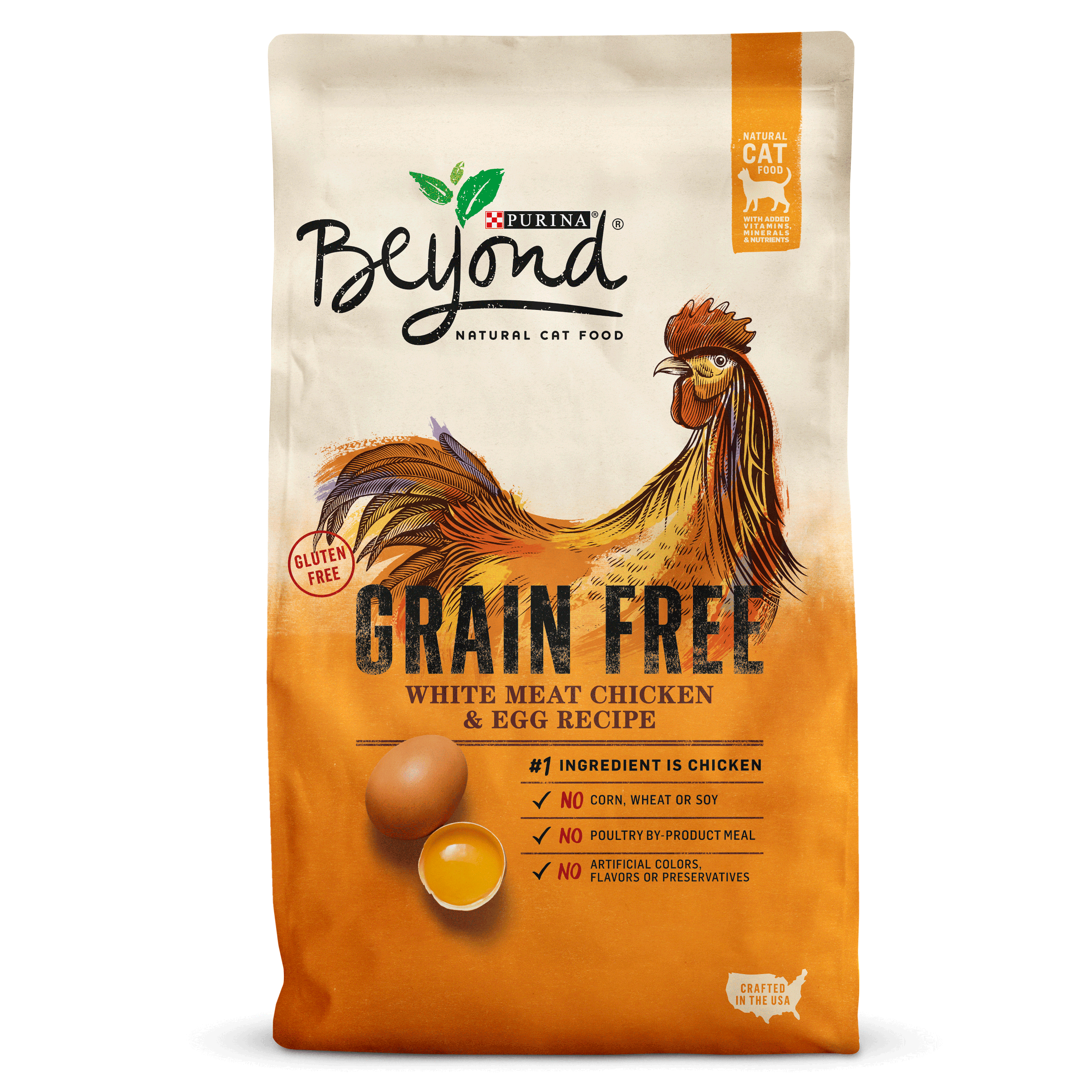 Purina Beyond Grain Free White Meat Chicken & Egg Recipe Adult Dry Cat Food, 3 Lb