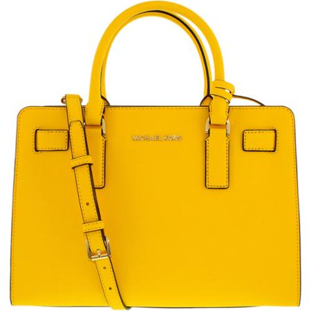 7bcb0687c237 MICHAEL Michael Kors - Dillon Top Zip E/W Satchel - Sunflower - Walmart.com
