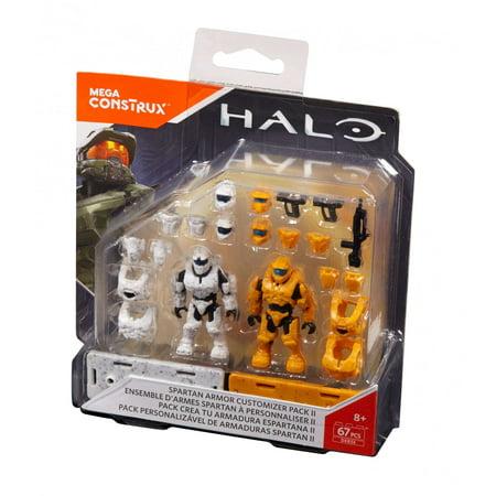 Mega Construx Halo Spartan Armor Customizer Pack - Best UNNAV
