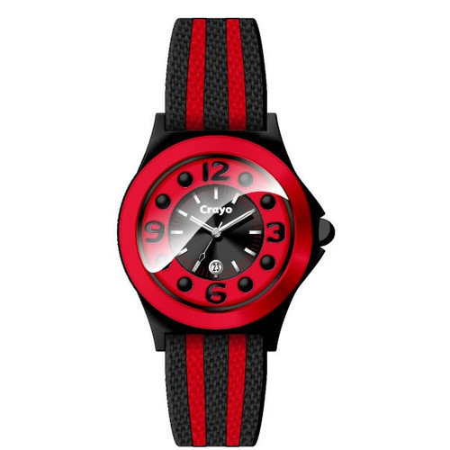 Crayo Carnival Leather-Band Watch