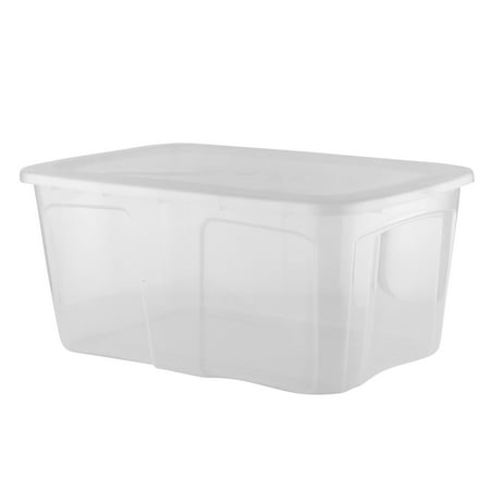 Paragon Plastics 7360 52 Liter 12 Piece Stackable Storage Container Box w/ Lid (12 Pack) - image 2 of 2