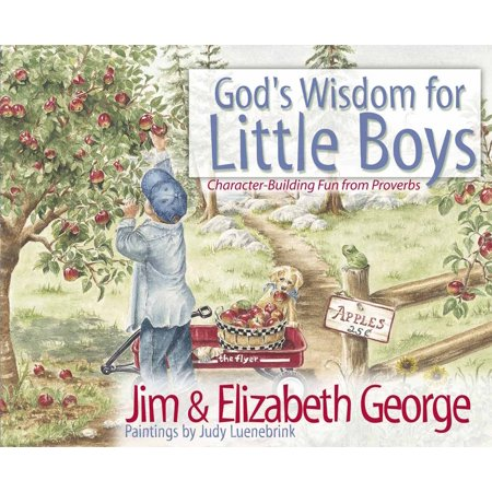 God's Wisdom for Little Boys: Character-Building Fun from Proverbs (Little Boy From Big Daddy Grown Up)