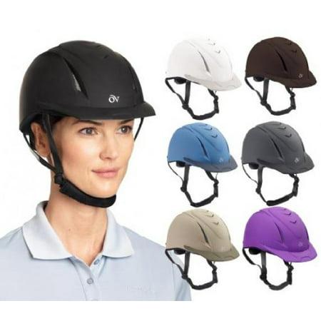 Ovation Deluxe Schooler Helmet Medium/Large Purple