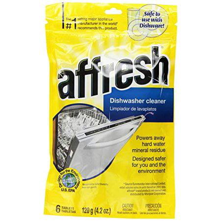 Affresh W10282479 Dishwasher Whirlpool OEM Cleaner 6 ct. Pouch ()