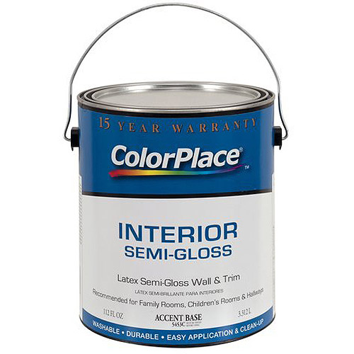 Colorplace Interior Paint Semi-Gloss AB, 1 gal