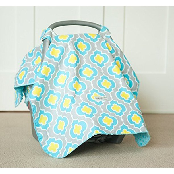 Carseat Canopy Kennedy Baby Infant Car Seat Cover W Attachment