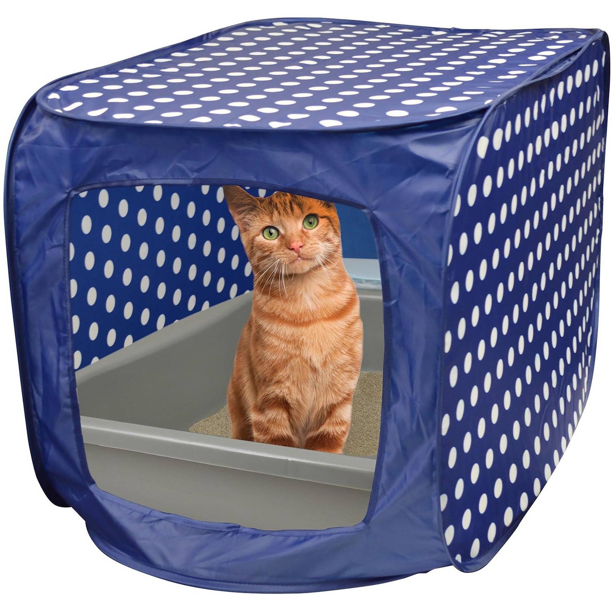 Pet Zone Cat Litter Box Pop Up Canopy Walmart Com