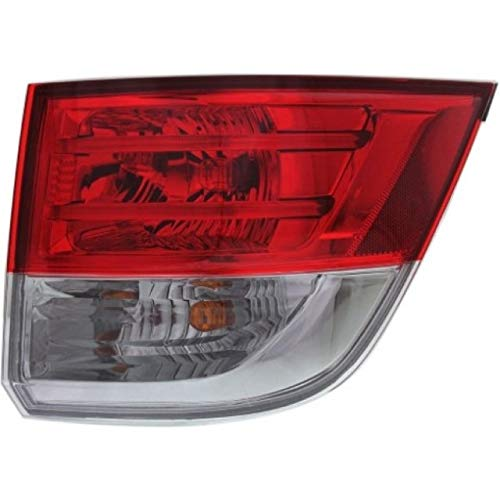 Tail Light - Cooling Direct Fit/For HO2805104 14-17 Hon Odyssey Tail Lamp Assembly Rh On Body NSF