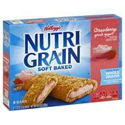 Kellogg's Nutri-Grain Soft Baked Strawberry Greek Yogurt Breakfast Bars 8-1.3 oz. Wrappers