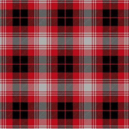 Black & Red Plaid Fleece Fabric - Style# 3151-15 - Free