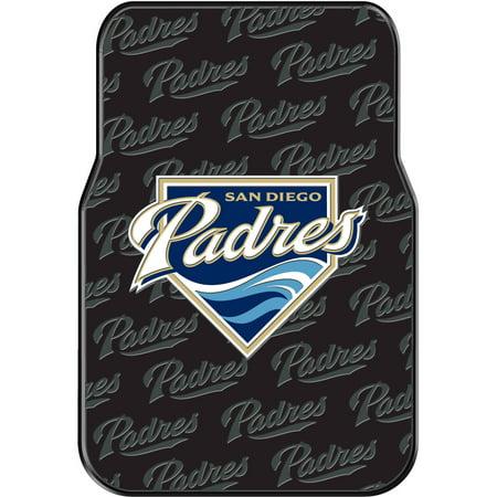 MLB San Diego Padres Floor Mats, Set of (Mlb Baseball Floor Mat)