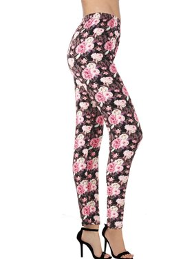 ac7f1c71f349f Product Image LAVRA Women's Ultra Soft Floral Printed Fashion Leggings