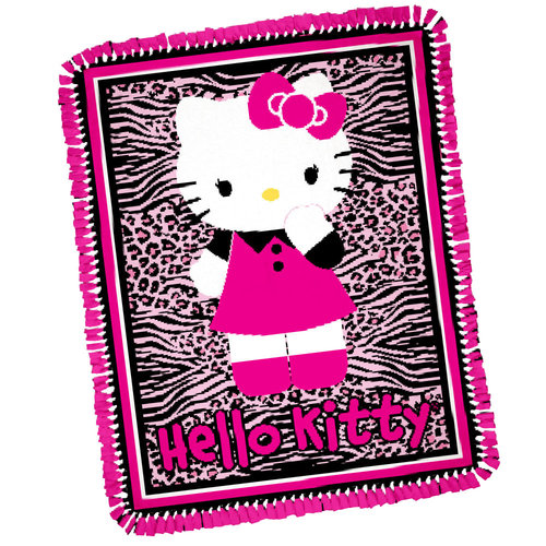 Springs Creative Hello Kitty Animal Skin Throw Kit