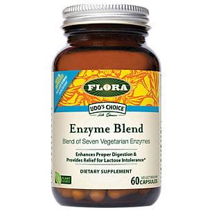 Choix mélange d'enzymes FLORA Udo - 60 Capsules
