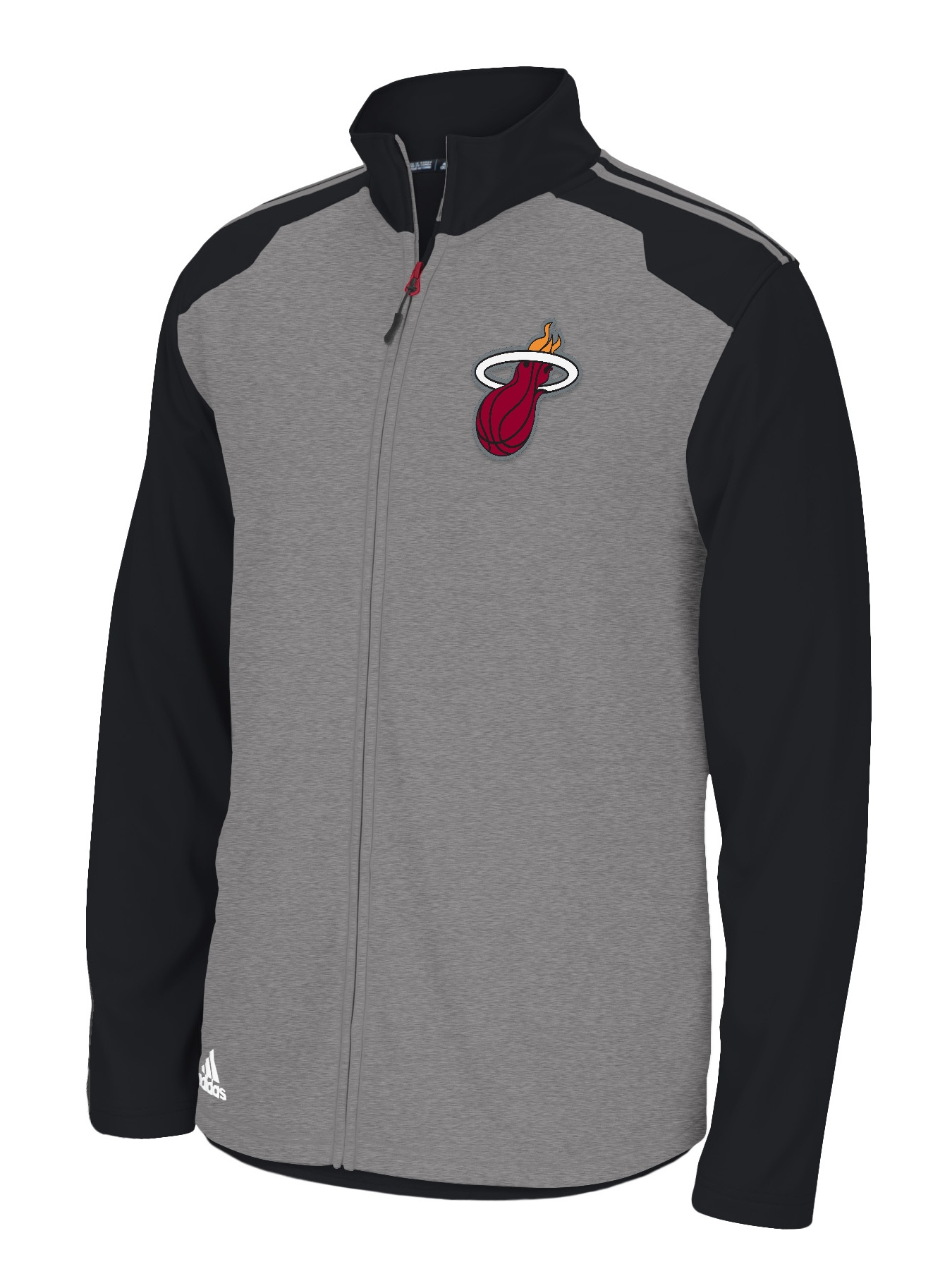 Miami Heat Adidas 2014 NBA Climawarm Full Zip Men's Fleece Jacket by Adidas