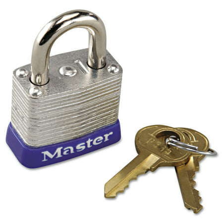 Master Lock No. 7 Laminated Steel Pin Tumbler Padlock Lock Tumbler Padlock