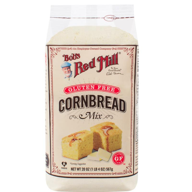 Bob's Red Mill Gluten Free Cornbread Mix 20 oz. (4 count)