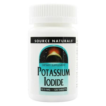 Source Naturals Source Naturals  Potassium Iodide, 120 - Potassium Iodide Tablets