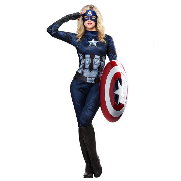 Captain America Womens Costume Walmart Com Walmart Com Good prices and fast shipping. captain america womens costume