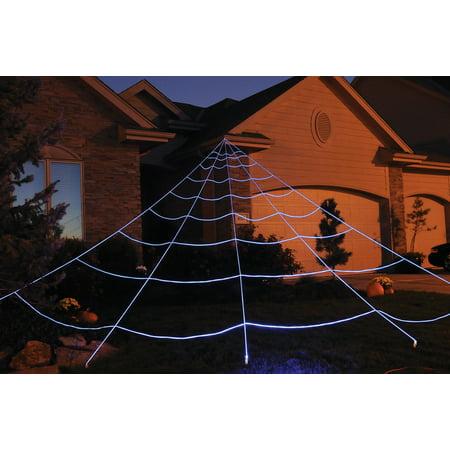 Instant Mega Web Yard Halloween Decoration