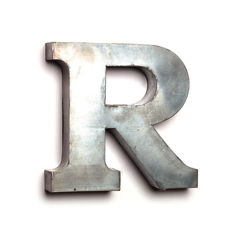 Large Tin Letters