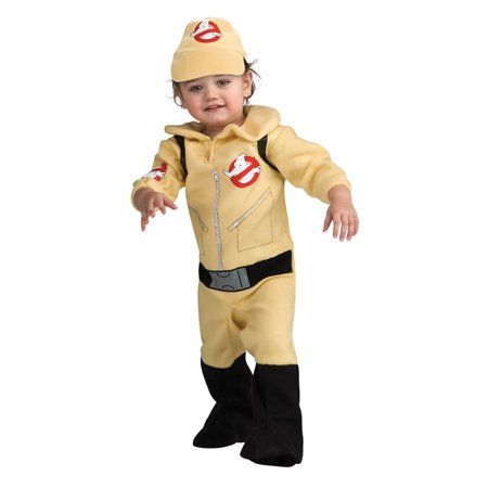 Ghostbusters Infant/Toddler Costume-6 to 12 months - Toddler Ghostbusters Costume