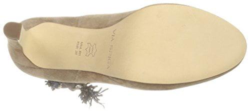 Via Spiga Women's Bristol Ankle Bootie,  Dark Taupe,  10 M US