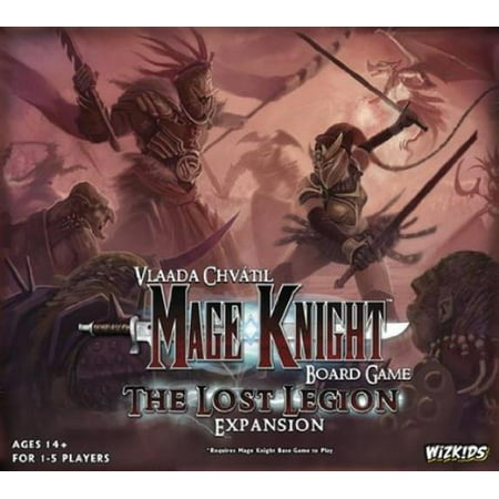 Mage Knight-Lost Legion Expansion Board Game