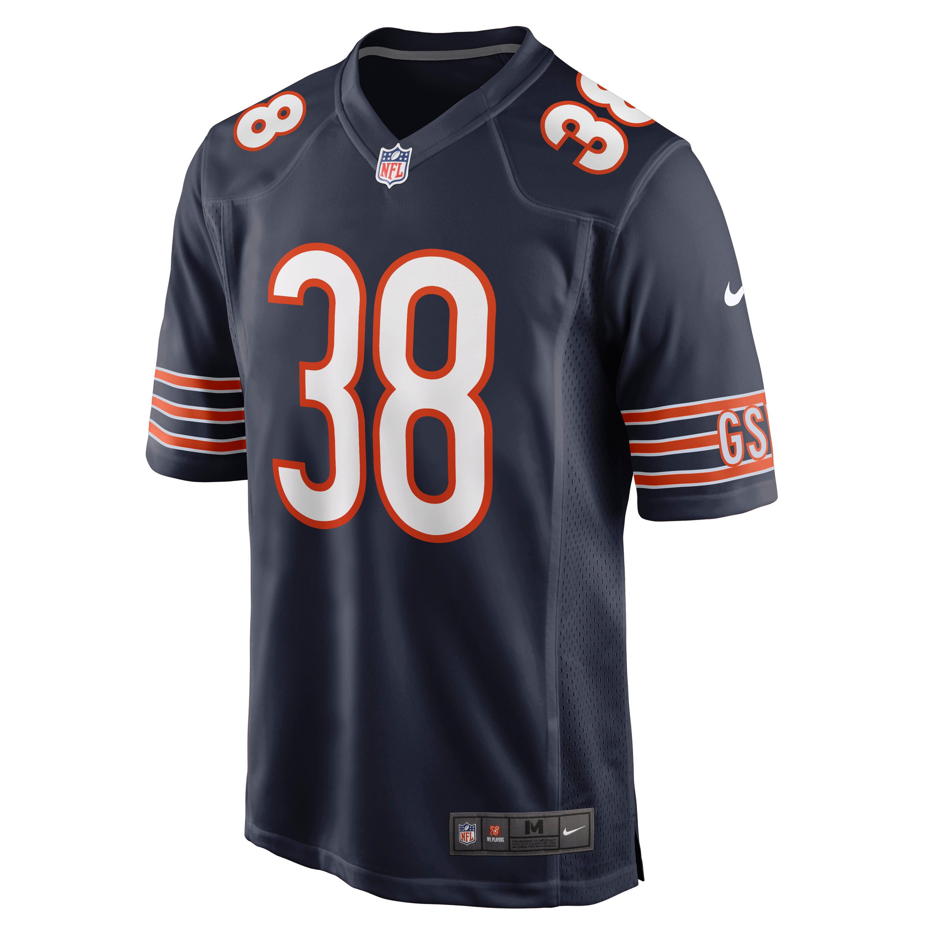 Tashaun Gipson Chicago Bears Nike Game Jersey - Navy