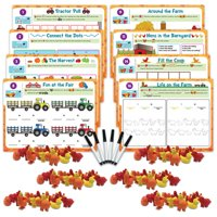 EAI Education Hands-On Math Centers: Animal Counters - Grade K