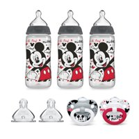 NUK Mickey Mouse Bottle & Pacifier Newborn Set