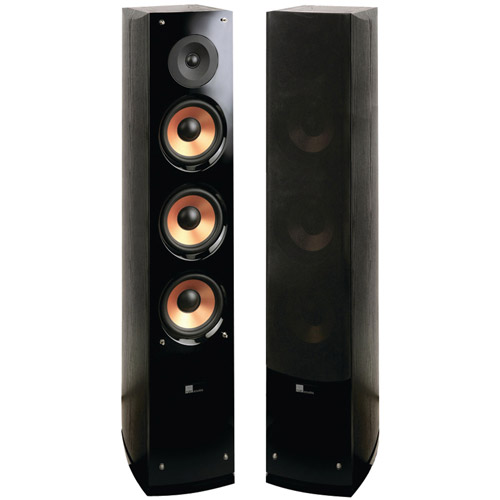 "Pure Acoustics Supernova8-F 6.5"", 2-way Supernova Series Tower Speaker with Lacquer Baffle (Sold Individually)"