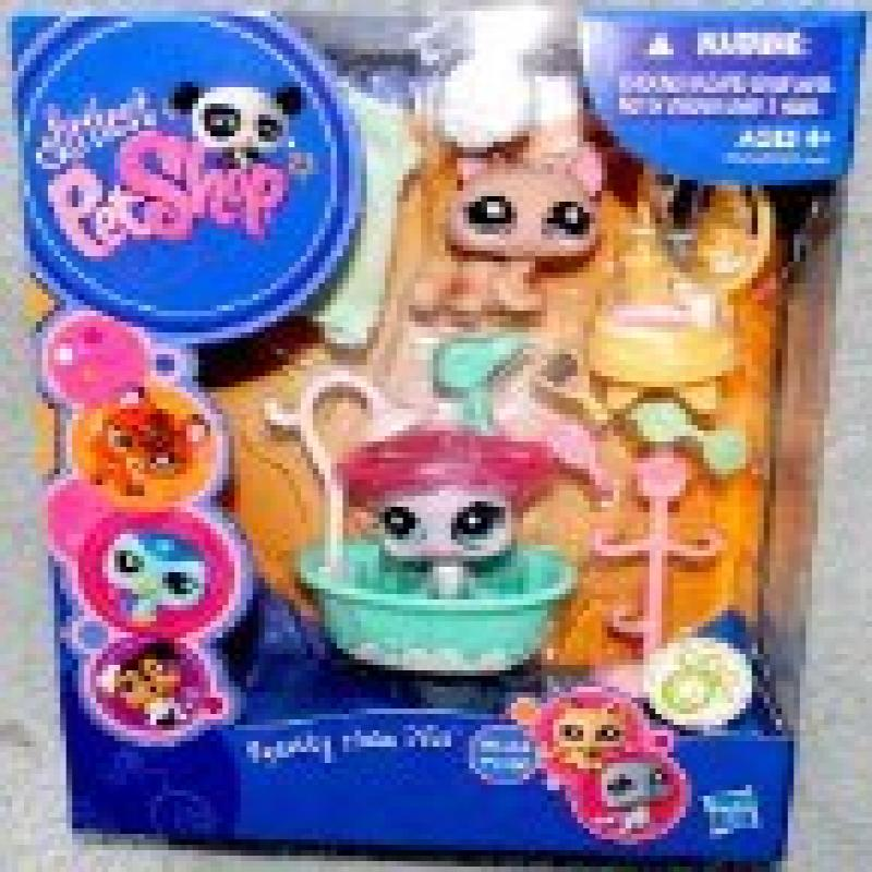 Hasbro Littlest Pet Shop - Squeaky Clean Pets #1444 & #1445